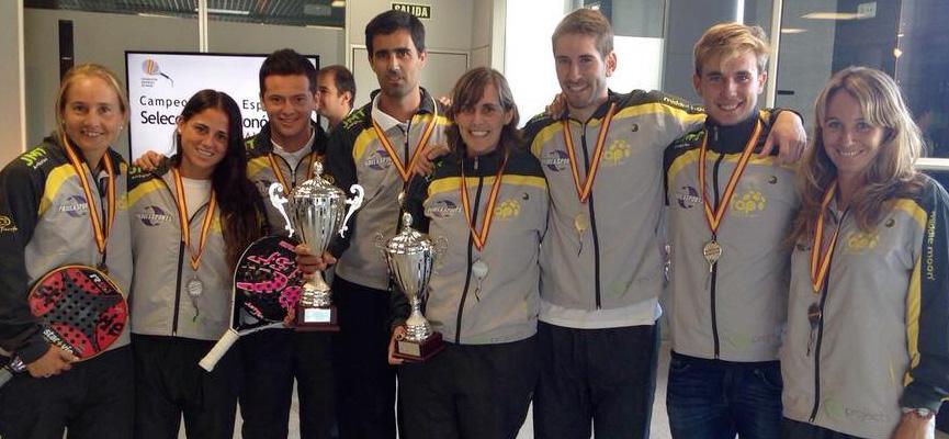 Malagueños en la selección andaluza.