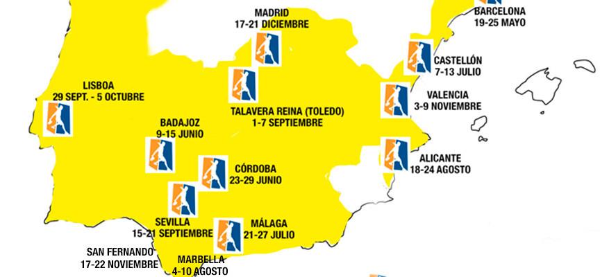 World Padel Tour anuncia cambios en su calendario 2014 a menos de tres meses para el fin de la temporada
