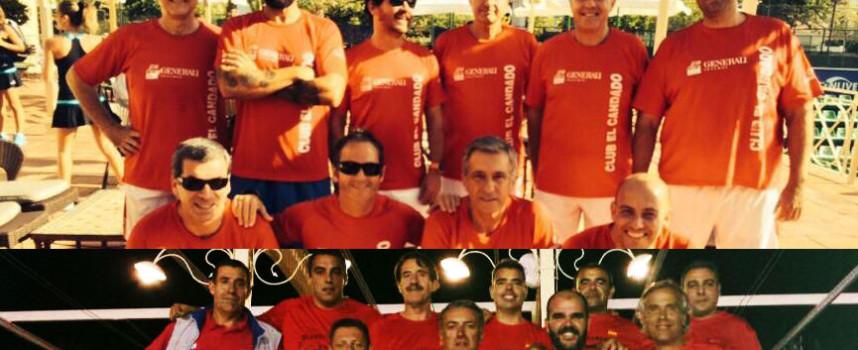 Capellanía y El Candado se abren paso en la previa andaluza del Campeonato de España de Padel por Equipos de Veteranos de 3ª categoría 2014