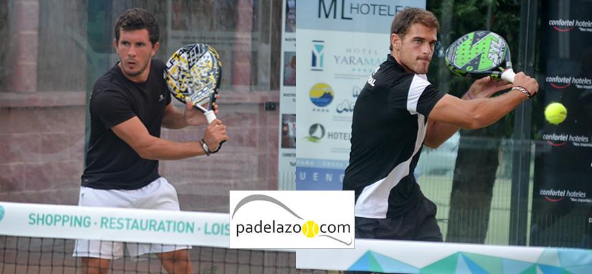 Leandro del Negro y Nico Moral se llevan el duelo de sangre en la final del Torneo Cruz Roja Fuengirola