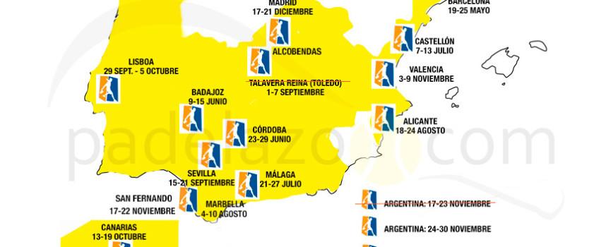 World Padel Tour cancela la prueba de Dubai a seis semanas de su celebración