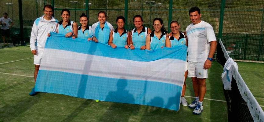 seleccion-femenina-argentina-mundial-de-padel-2014
