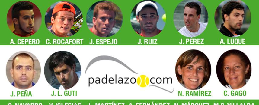 Andalucía anuncia a su armada para el Campeonato de España de Padel de Selecciones Autonómicas 2014