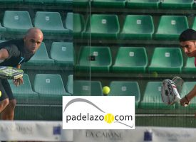 Sergio Contreras y Pedro Criado dominan la final de 1ª del Open de Padel Malavida