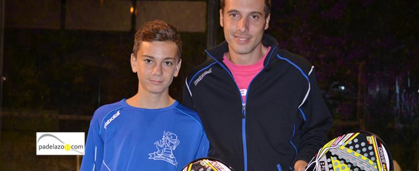 Braulio Rizo y Carlos Muñoz imponen su lección en la final de 2ª del Torneo Optimil Armengual