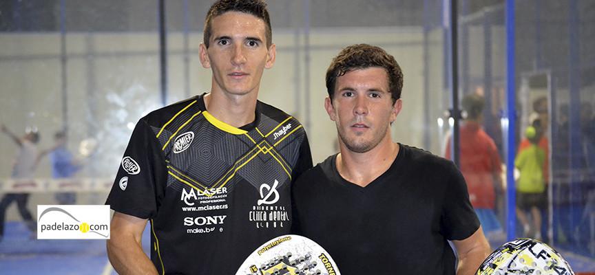 Los hermanos Del Negro besan el triunfo en la 1ª de Vetto Padel en Málaga