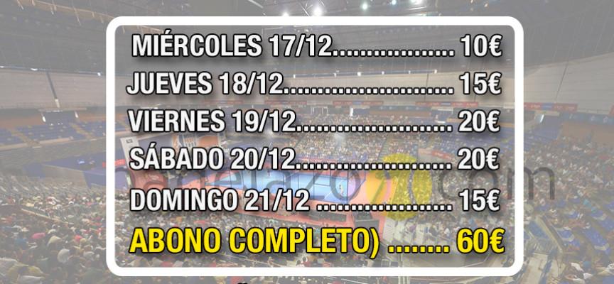Entradas Master Final World Padel Tour 2014: ya a la venta