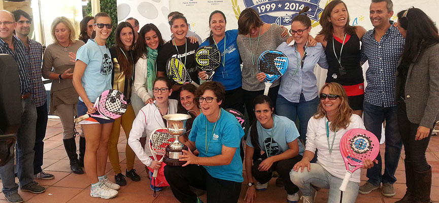seleccion-femenina-malaga-campeonato-andalucia-padel-selecciones-provinciales-2014