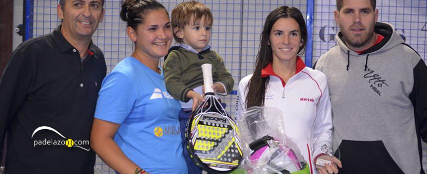 Andreína de los Santos y Candela Escobar coronan su semana fantástica con un gran triunfo en Fantasy Padel
