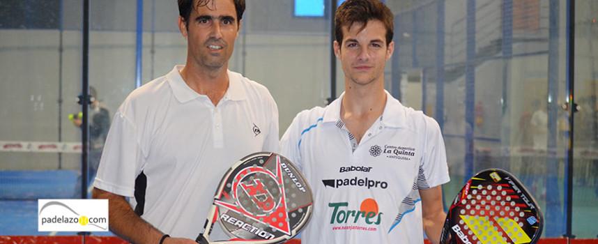 Momo y Guti mezclan el vértigo y la pausa para dominar la VII Prueba del Circuito de la FAP en Málaga