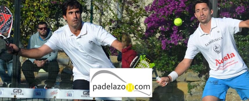 Guti y Willy Ruiz recuperan la mística de su padel para cerrar el Circuito Provincial 2014 de la FAP en Málaga