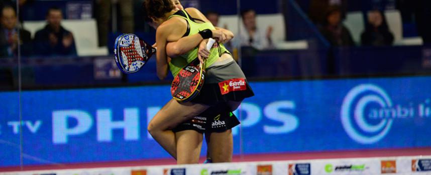 La gemelas Sánchez Alayeto conquistan la final femenina del Master 2014 torcida por el infortunio