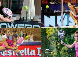 Baile de parejas para el circuito femenino World Padel Tour 2015 tras la retirada de Icíar Montes