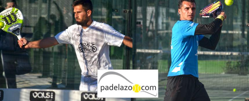 Pablo Herrera y Javi Bravo imponen su padel en el primer Torneo de 2015 en Vals Sport Cónsul