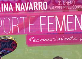 Carolina Navarro, protagonista de una Jornada de Reconocimiento y Apoyo al Deporte Femenino