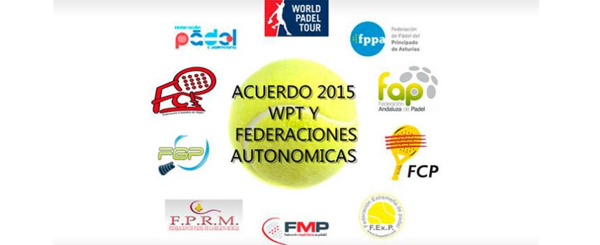 World Padel Tour incorpora a las federaciones territoriales en la organización de torneos profesionales