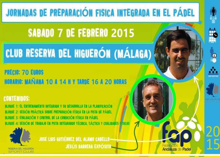 curso preparacion fisica en el padel fap reserva del higueron febrero 2015