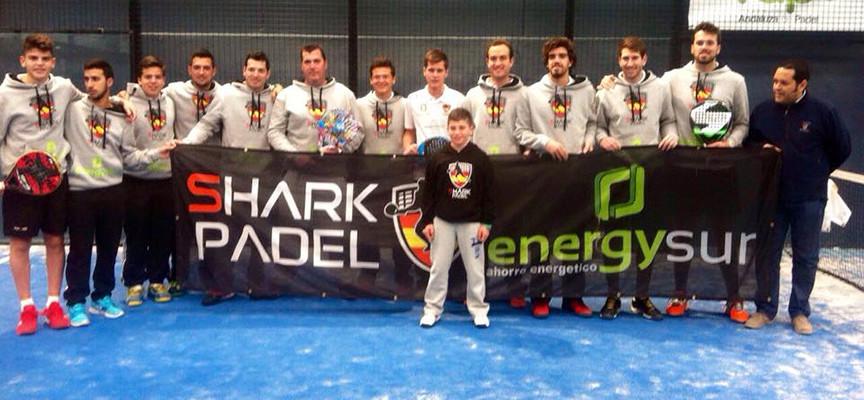 Campeonato de Andalucía por Equipos de 1ª 2015: las figuras elevan al equipo masculino de Sharkpadel Los Boliches