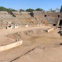 World Padel Tour defiende la ubicación de la pista en el Anfiteatro Romano de Mérida