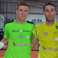 Peli Espejo y Javi Ruiz atrapan el triunfo en Padelfly en su camino hacia la Copa de Andalucía