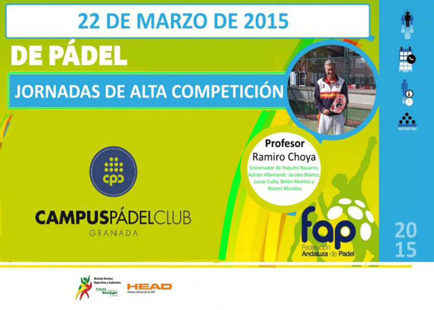 jornadas padel alta competicion ramiro choya fap 2015