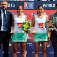 Las gemelas Sánchez Alayeto recuperan su idilio con el triunfo en el World Padel Tour Barcelona