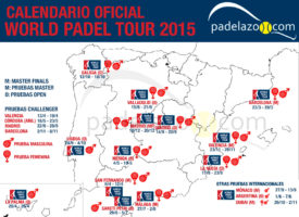 Presentado el Calendario World Padel Tour 2015: 5 Master, 10 Open y 4 Challenger