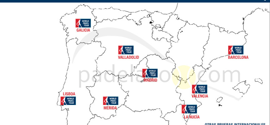 Calendario World Padel Tour 2015: avance de nuevas sedes