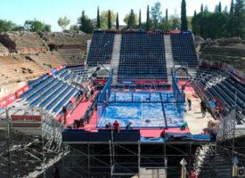 World Padel Tour Mérida: más de 200.000 firmas y una manifestación contra el uso del Anfiteatro