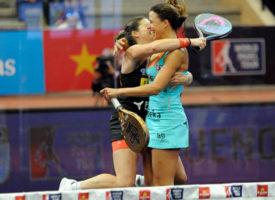 Marta Marrero y Ale Salazar se coronan sobre el alambre en la final del Estrella Damm San Fernando Open