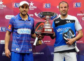 Fernando Belasteguin y Willy Lahoz cierran su breve aventura con su segundo título juntos en el Open de Las Palmas
