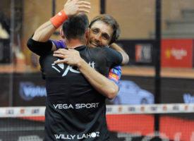 Willy Lahoz y Fernando Belasteguin derrotan al tiempo en la final masculina del WPT San Fernando