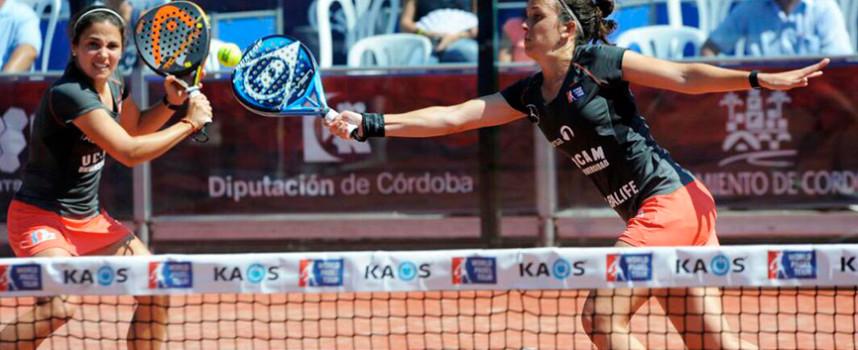 El coraje de Llaguno y Amatriain les da el primer título de la temporada en el Córdoba Estrella Damm Open 2015