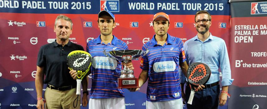 El carácter de Belasteguin y Lima les impulsa para sumar su tercer título World Padel Tour en Mallorca