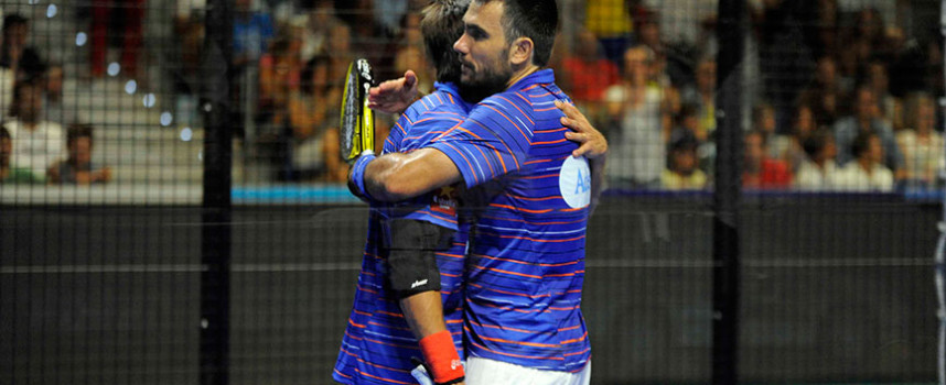 Pablo Lima y Fernando Belasteguin reaccionan a lo grande para firmar en Málaga su cuarto título de 2015