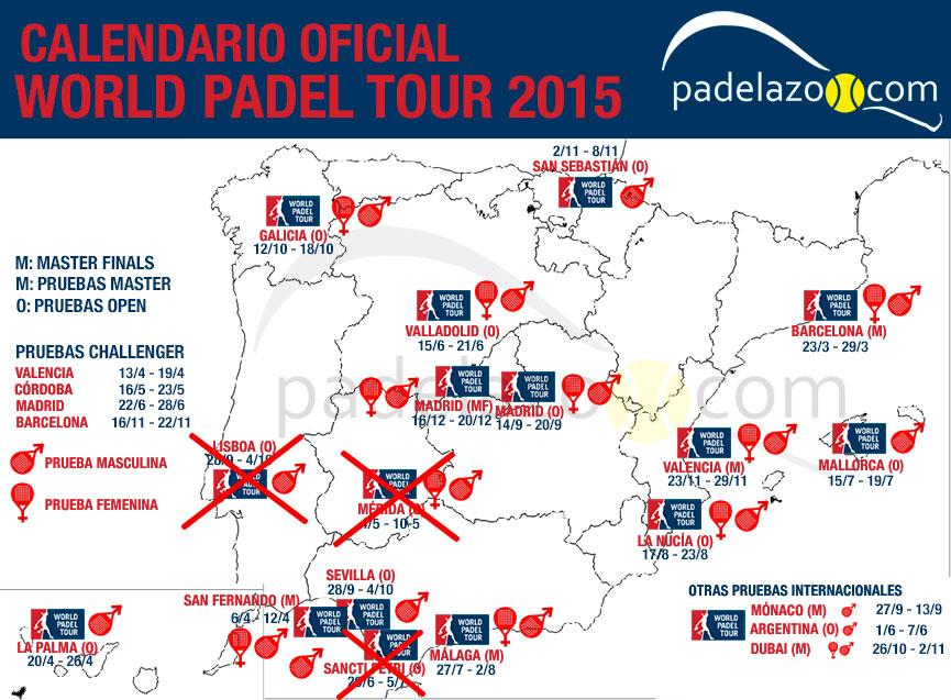 cambios mapa-calendario-world-padel-tour-2015