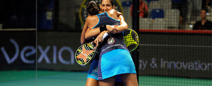 Las gemelas Sánchez Alayeto recuperan la corona sobre la alfombra azul de Málaga