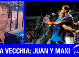 Mirada Vecchia: la escalada de Juan Martín y Maxi Sánchez