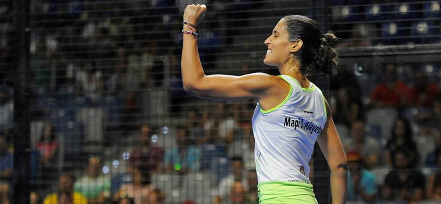 Las gemelas resisten el empuje de Eli Amatriain y Patty Llaguno para acceder a la final de Málaga