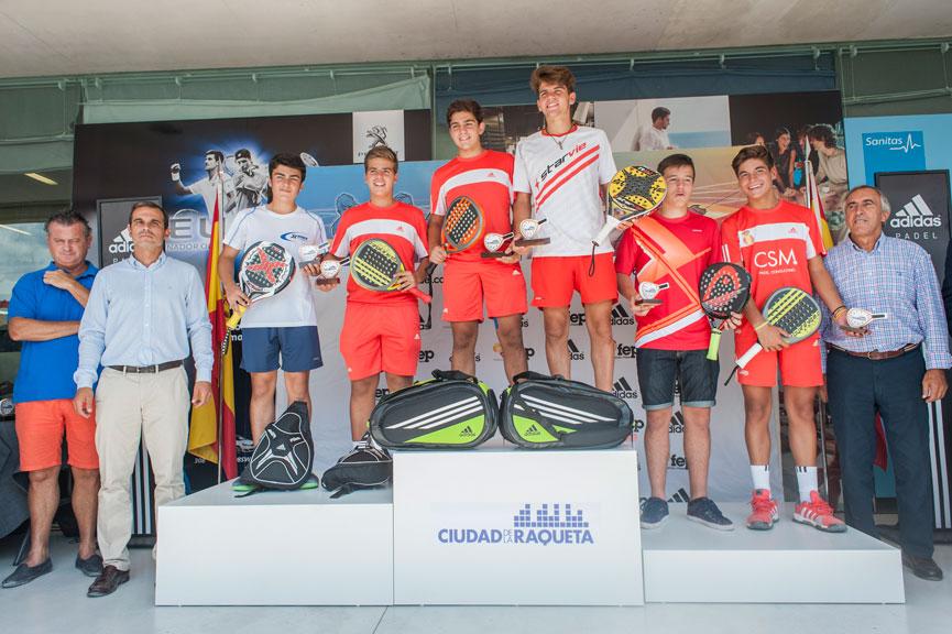 campeones-y-subcampeones-cadete-masculino-campeonato-espana-padel-menores-2015