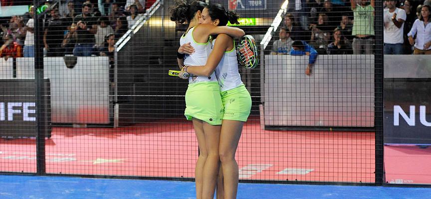 Las gemelas Sánchez Alayeto exhiben su carácter para llevarse su quinto título de la temporada en Madrid