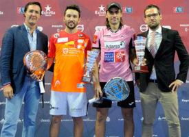 Juani Mieres y Sanyo Gutiérrez desbancan a los aspirantes para coronarse en el Estrella Damm Madrid Open 2015