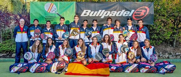 seleccion-espana-menores-mundial-padel-2013