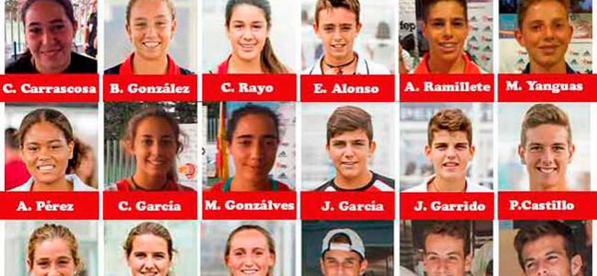 Andalucía y Madrid sostienen la base de la convocatoria española al Mundial de Padel de Menores 2015