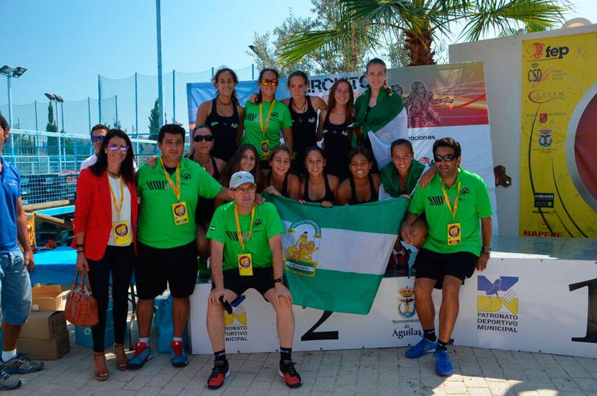 seleccion-femenina-andalucia-campeonato-espana-padel-selecciones-autonomicas-menores-2015