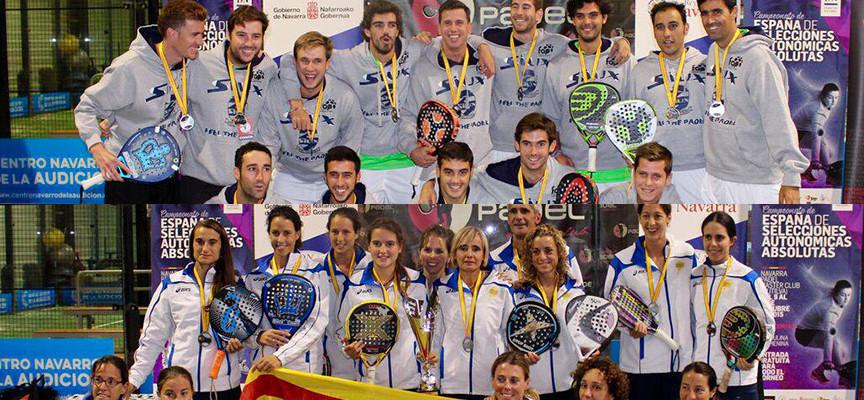 Repóker de Andalucía y triplete de Cataluña en el Campeonato de España Absoluto de Selecciones Autonómicas 2015