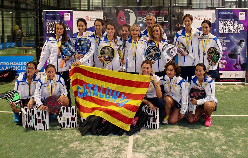 campeonas-catalunya-campeonato-espana-padel-absoluto-selecciones-autonomicas-2015