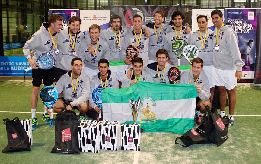 campeones-equipo-andalucia-campeonato-espana-padel-absoluto-selecciones-autonomicas-2015