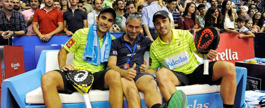 Fernando Belasteguin y Pablo Lima se anotan el séptimo al arrollar en la final express del Estrella Damm Sevilla Open 2015