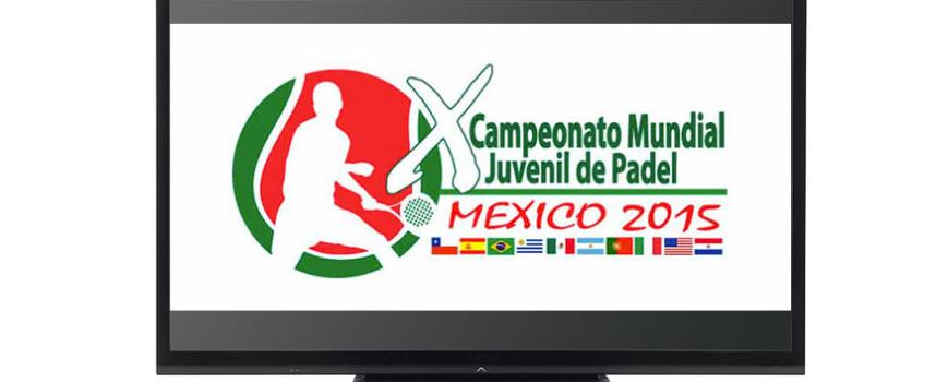 Streaming: Mundial de Padel de Menores 2015 en directo